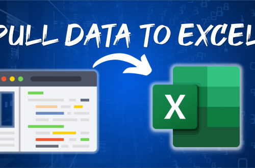 Pull data from website to excel